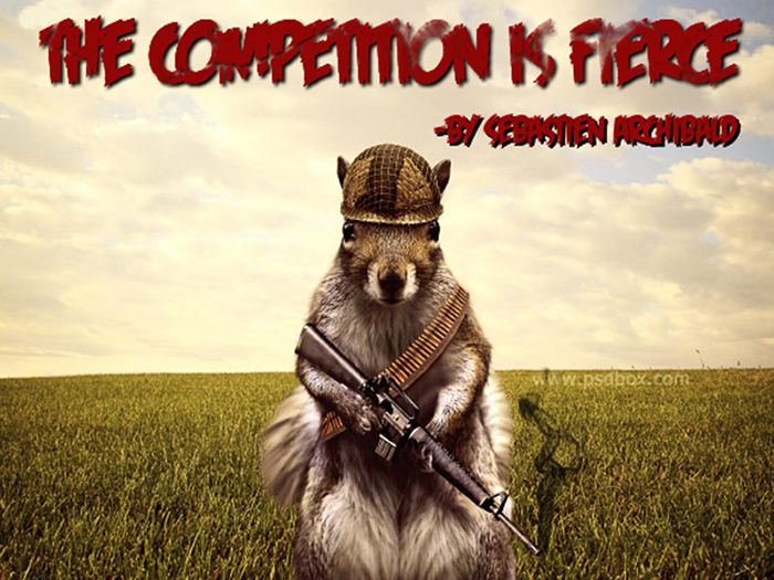 The Competition is Fierce Auditions
