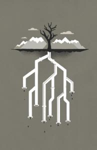 pipeline - illustration 11x17